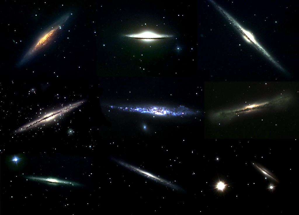 les galaxies de l univers